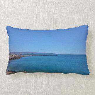 Almofada Lombar Travesseiro decorativo do céu azul e da paisagem
