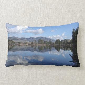 Almofada Lombar Travesseiro decorativo do lago curlew