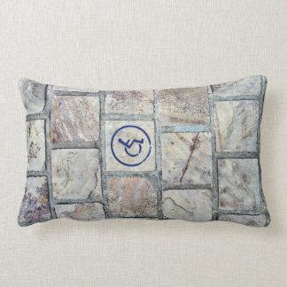 Almofada Lombar Travesseiro decorativo do símbolo da cadeira de