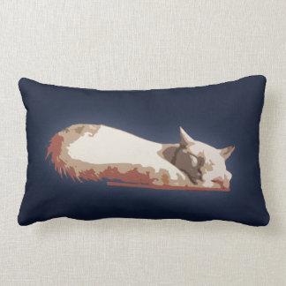 Almofada Lombar Travesseiro decorativo do sono do gato Siamese de