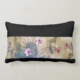 Almofada Lombar Travesseiro decorativo floral dos patos de Lotus