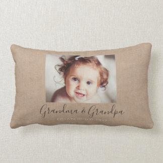 Almofada Lombar Travesseiro decorativo personalizado da foto de