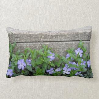 Almofada Lombar Travesseiro decorativo rústico da pervinca