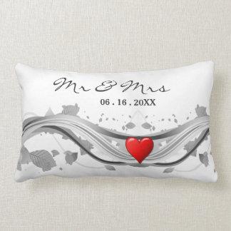 Almofada Lombar Travesseiro do acento do amor do monograma da