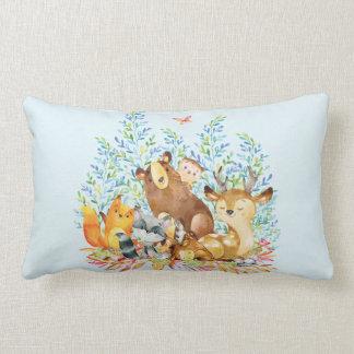 Almofada Lombar Travesseiro do berçário do bebé dos animais da