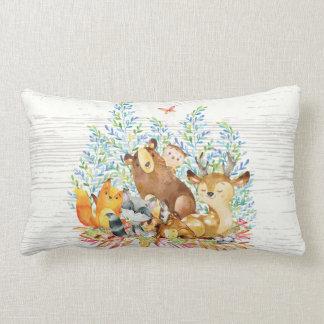Almofada Lombar Travesseiro do berçário do bebê dos animais da
