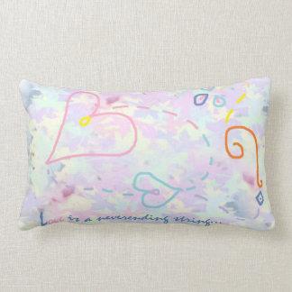 Almofada Lombar Travesseiro do design dos corações