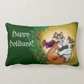 Almofada Lombar Travesseiro do Fox do presente de época natalícia