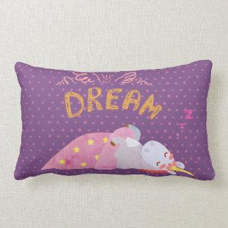 Almofada Lombar Travesseiro do sono do unicórnio
