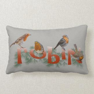 Almofada Lombar Travesseiro dos robins (cinzento)