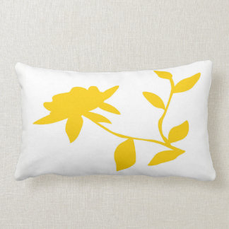 Almofada Lombar Travesseiro dourado da flor