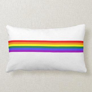 Almofada Lombar Travesseiro feito sob encomenda do arco-íris da