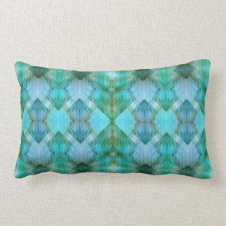 Almofada Lombar Travesseiro geométrico inspirado asteca do teste