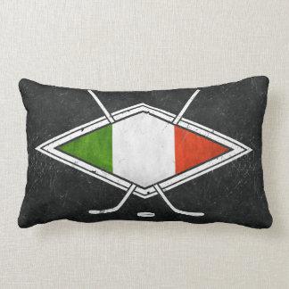 Almofada Lombar Travesseiro italiano do logotipo da bandeira do