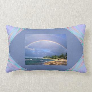 Almofada Lombar Travesseiro lombar com um arco-íris perfeito