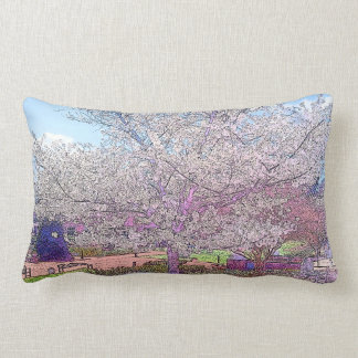 Almofada Lombar Travesseiro lombar da árvore bonita