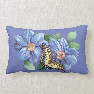 Almofada Lombar Travesseiro lombar da borboleta da aguarela