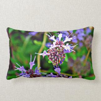 Almofada Lombar Travesseiro lombar da flor da lavanda
