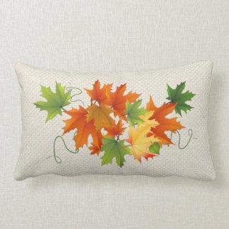 Almofada Lombar Travesseiro lombar da folha da queda