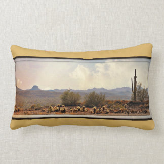Almofada Lombar Travesseiro lombar da paisagem nova do rio
