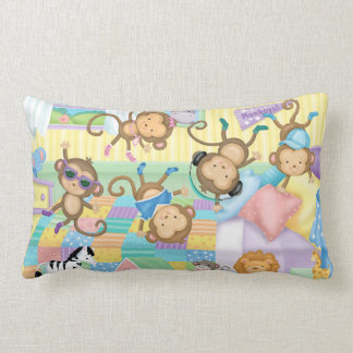Almofada Lombar Travesseiro lombar de cinco macacos pequenos