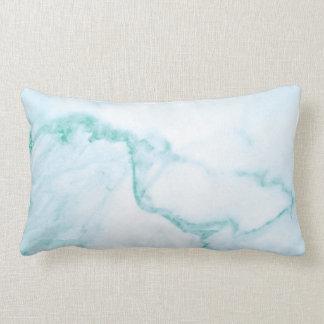 Almofada Lombar Travesseiro lombar de mármore de turquesa