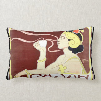 Almofada Lombar Travesseiro lombar de Nouveau da arte de Rajah