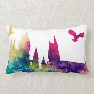 Almofada Lombar Travesseiro lombar do castelo do Watercolour
