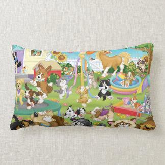 Almofada Lombar Travesseiro lombar do jogo do animal de estimação