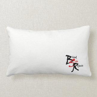 Almofada Lombar Travesseiro lombar do logotipo branco de BSR