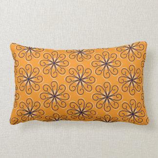 Almofada Lombar Travesseiro lombar do redemoinho alaranjado do