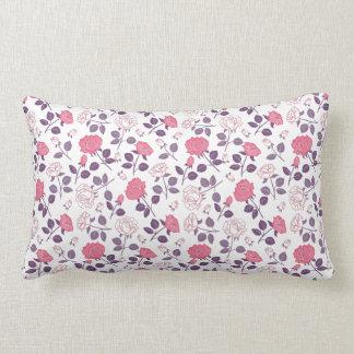 Almofada Lombar Travesseiro lombar do teste padrão cor-de-rosa dos