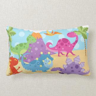 Almofada Lombar Travesseiro lombar dos dinossauros