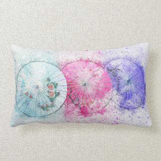 Almofada Lombar Travesseiro lombar dos parasóis do Watercolour do