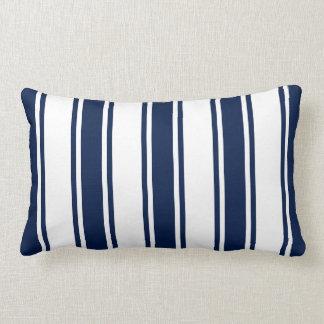 Almofada Lombar Travesseiro lombar listrado náutico dos azuis