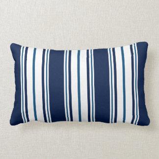 Almofada Lombar Travesseiro lombar náutico listrado dos azuis