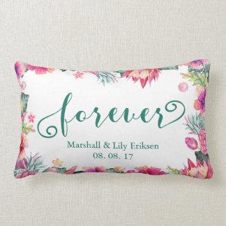 Almofada Lombar Travesseiro lombar personalizado do casamento