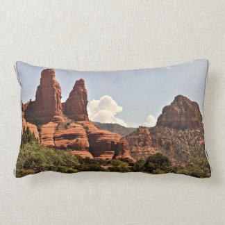 Almofada Lombar Travesseiro lombar poli da rocha vermelha de
