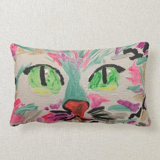 Almofada Lombar Travesseiro louco do gato