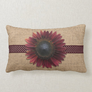 Almofada Lombar Travesseiro - Lumbar - girassol de serapilheira e