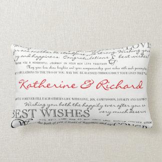 Almofada Lombar Travesseiro personalizado dos parabéns
