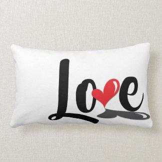 Almofada Lombar Travesseiro retangular do amor simples