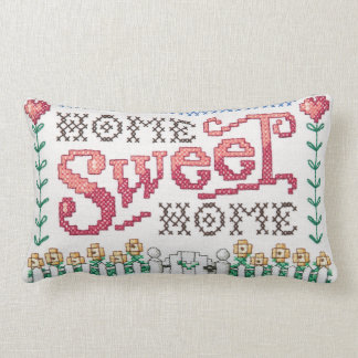 Almofada Lombar Travesseiro retangular Home doce Home