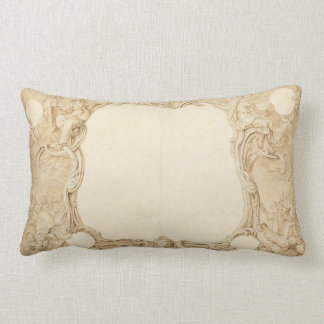 Almofada Lombar Travesseiro Rococo