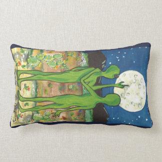 Almofada Lombar Travesseiro romântico do desenhista do UFO Roswell