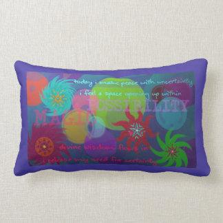 Almofada Lombar Travesseiro roxo da possibilidade