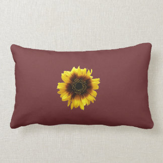 Almofada Lombar Travesseiro roxo do girassol