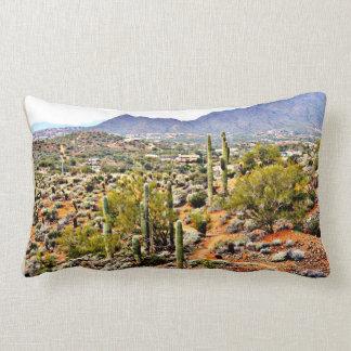 Almofada Lombar Travesseiro transversal da paisagem do rancho do