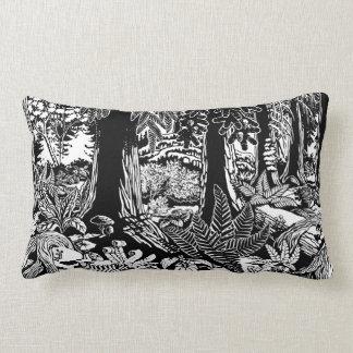 Almofada Lombar Travesseiros da floresta dos travesseiros