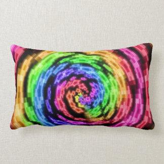 Almofada Lombar Travesseiros do Vortex da estrela do arco-íris